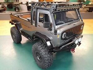 Rcdm Roll Cage Roof Rack For The Axial Jeep Mighty Fc Crawler