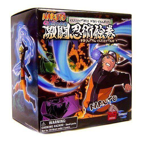 Toynami Naruto Shippuden Ninjutsu Collection 4 Inch Series 1 Figure Naruto