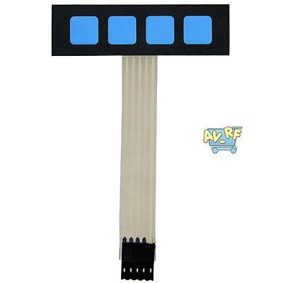 Pro 1x4 Super Slim Matrix Array 4Key Membrane Switch Keypad Keyboard For Arduino