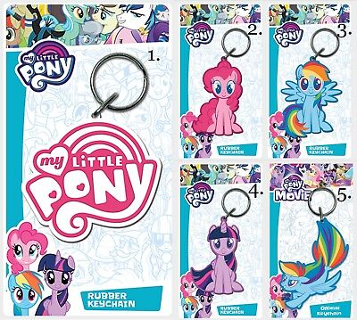 Official Licensed My Little Pony Pinkie Pie Rubber Keyring Bag Tag