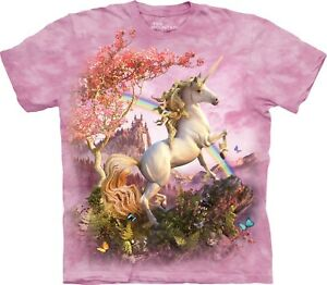Awesome-unicorn-Fantasy-T-Shirt-Adulte-Unisexe-The-Mountain