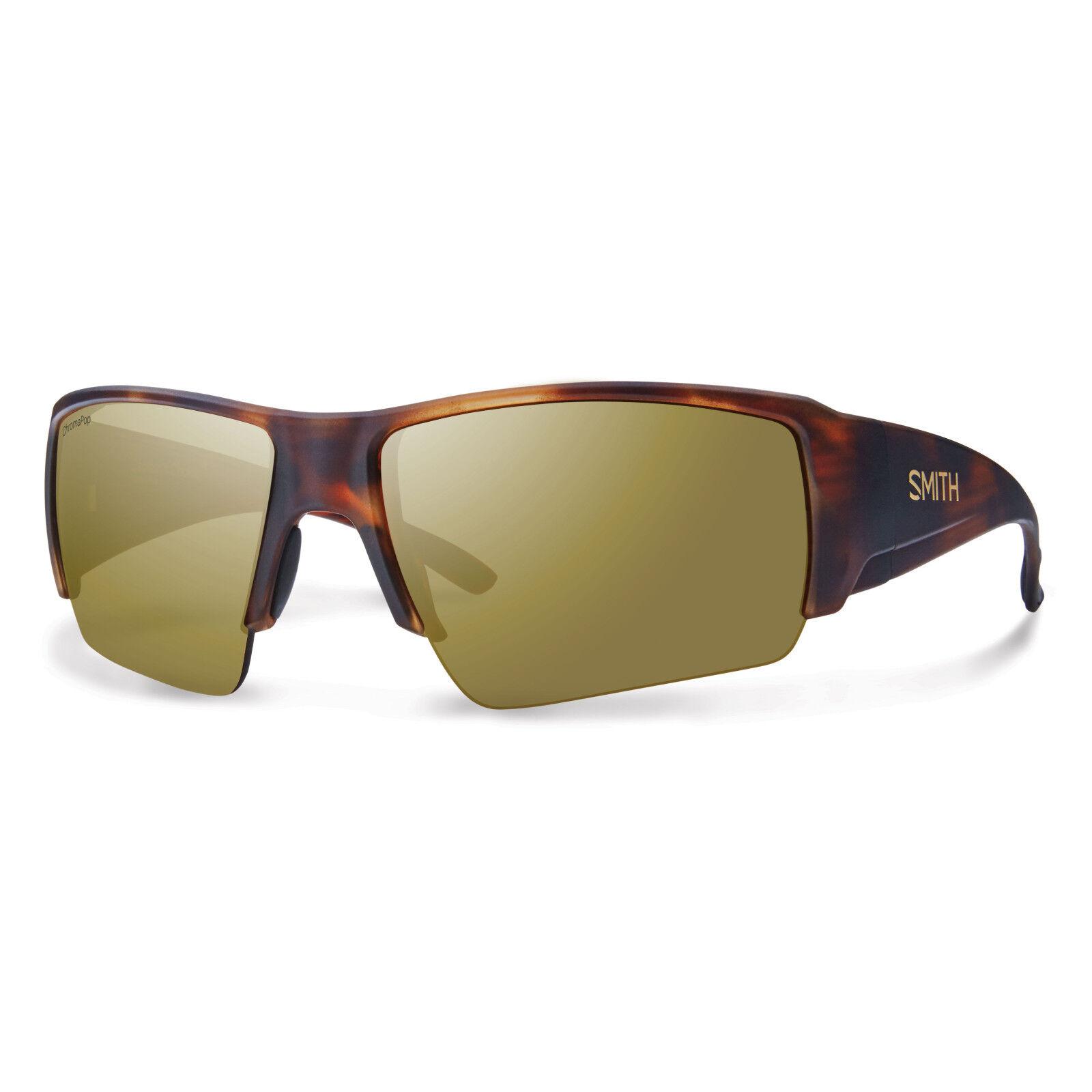 Smith Captain's Choice  Sun Glasses - Matte Havana  Chromapop+ Polar Brown Mirror  cheap designer brands