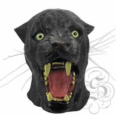 Nuovo! Lattice Realistica Animale Gatto Selvatico Pantera Fancy Sostegni Party Maschere Cosplay-mostra Il Titolo Originale Conveniente Da Cucinare