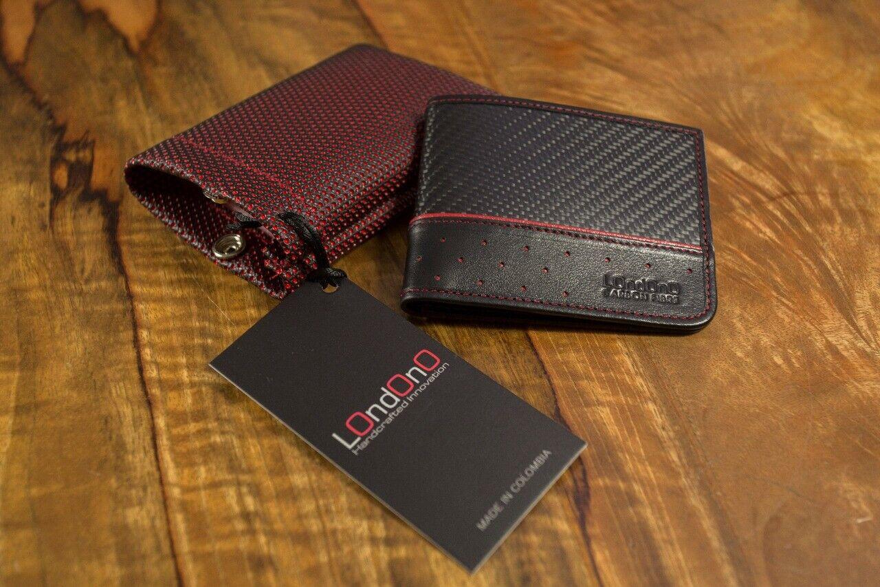 SUPER CARRERA / LOndOnO carbon fiber / leather wallet