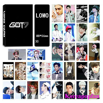 30pics set GOT7 LOMOCARDS Kpop goods New