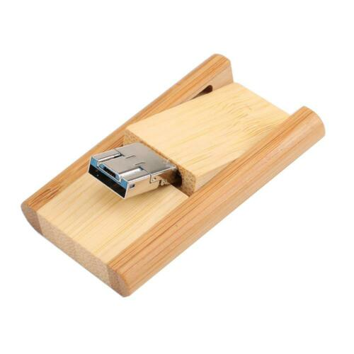 Rotatable USB 3.0 Type-C OTG USB Flash Drive Memory Stick for Android//PC #Z