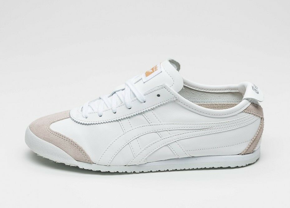 Onitsuka Tiger Mexico 66 Baskets Tous Les whites blue Asics Cuir