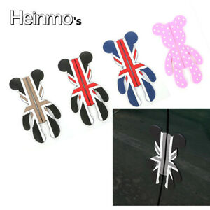 Union-Jack-Car-Bear-Door-Protective-Bumper-Strip-Decal-Sticker-For-Mini-Cooper