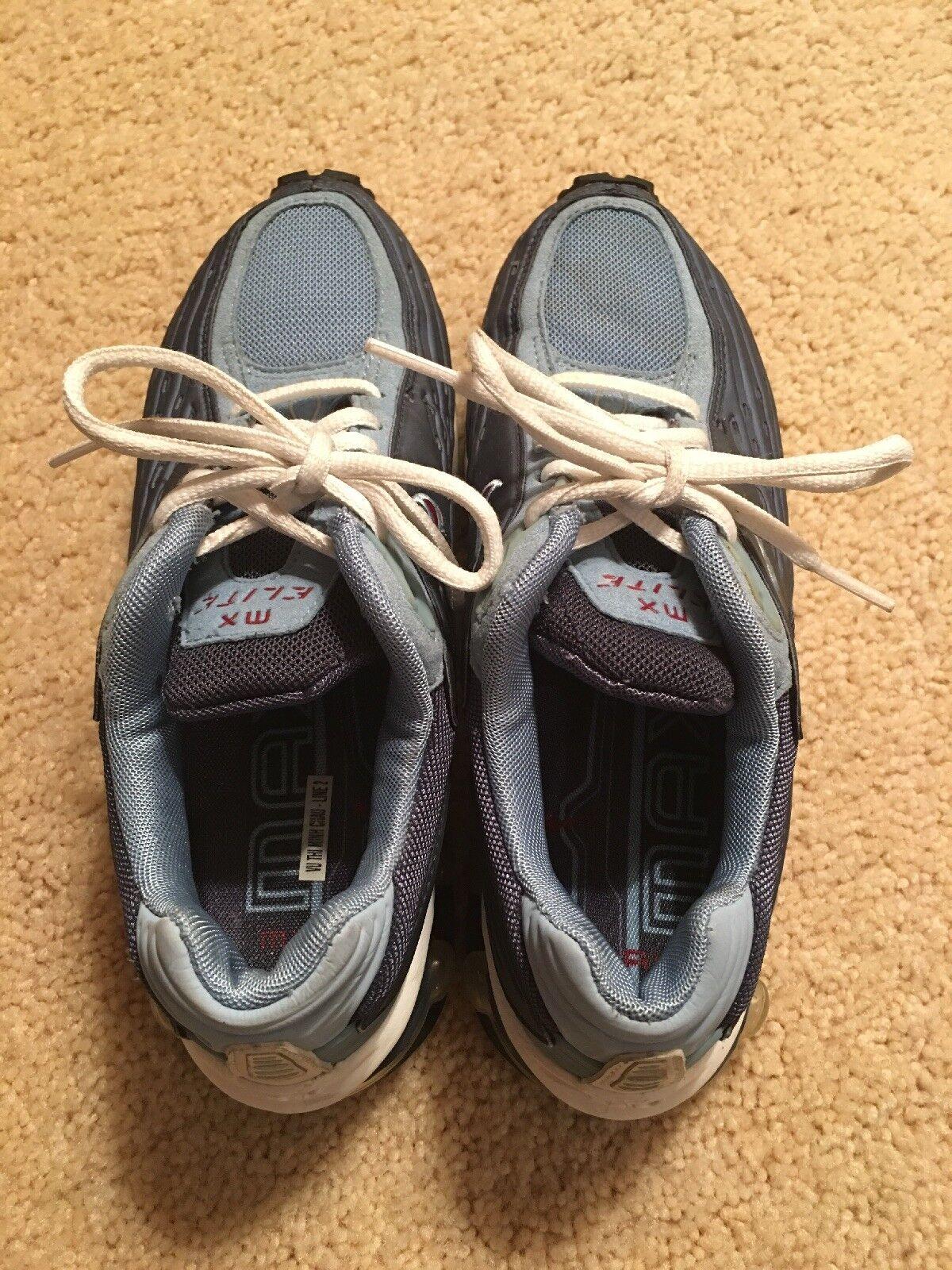 Nike Air Max 02 Donne Noi Noi Donne 7 Vintage Mx Elite Raro Nn. Uomotina Nessuna Scatola Blu 232285!! 4e3831