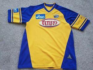 LEEDS-Rhinos-Testimonial-Asics-2003-Rugby-League-Shirt-Size-M