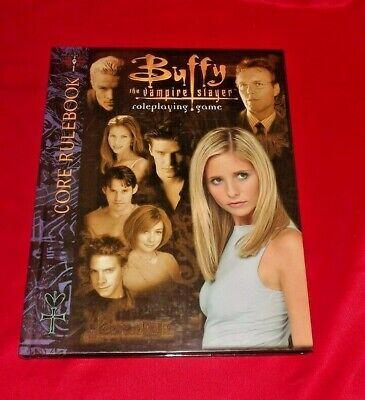 * Buffy L'ammazzavampiri Gioco Di Ruolo ~ Rivista Core Delinea * Rara-mostra Il Titolo Originale Styling Aggiornato