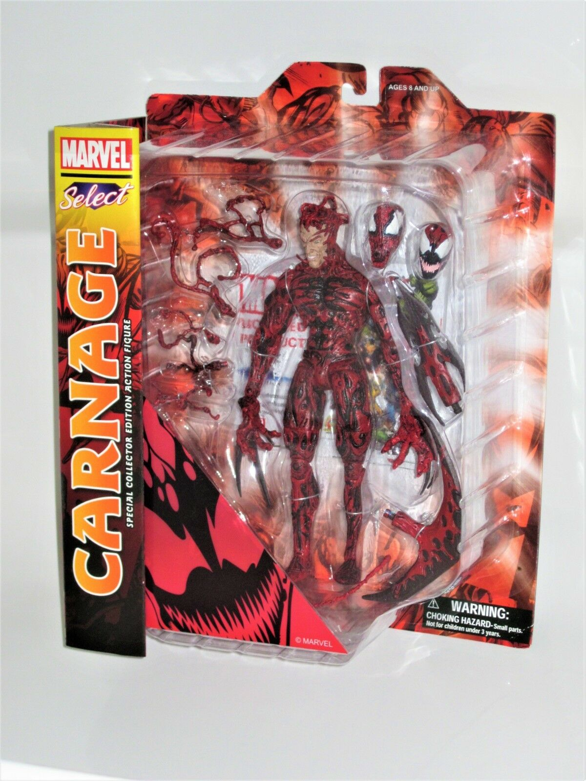 Marvel Select Carnage (Diamond Select) Brand New Sealed Hard To Find Not Legends
