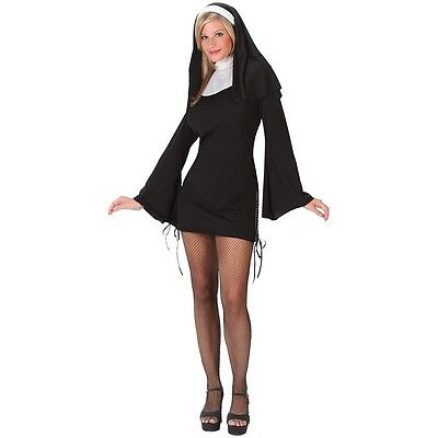 Sexy Nun Costume Adult Halloween Fancy Dress