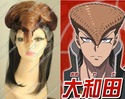 CAP Dangan Ronpa DanganRonpa Mondo Owada Anime Cosplay Costume Wig