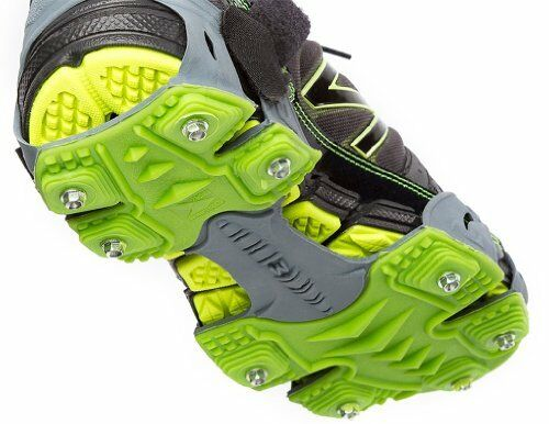 STABILicers Men's Stabilicers Sport Runners Ice Cleats,Grey,L (10.5-12.5 Mens)