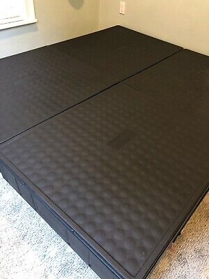 Used Select Comfort Sleep Number Twin Size Bed Foundation Frame Box Modular Base