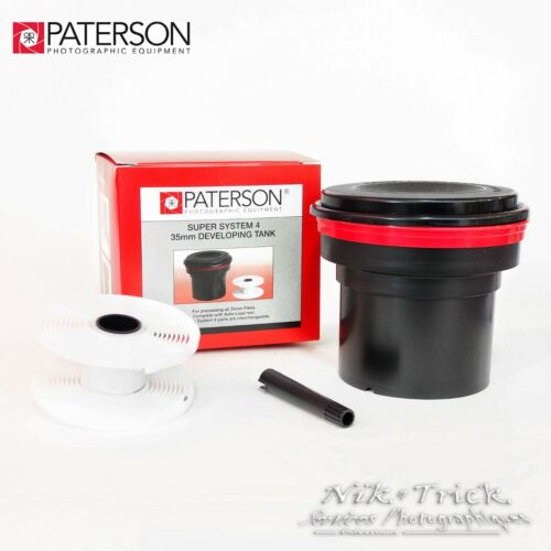 New Paterson Super System Four Tank 1x 35mm Inc Spiral