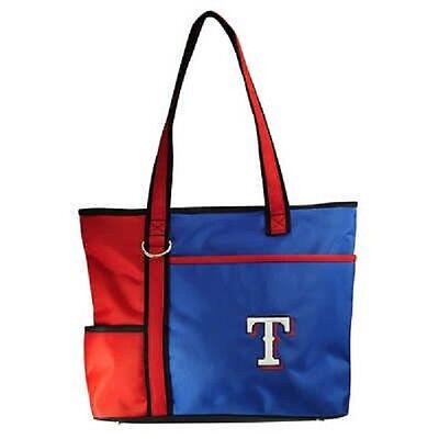 Neu Mlb Carryall Gametime Einkaufstasche Geldbörse Lizenziert Texas Rangers Im Sommer KüHl Und Im Winter Warm Fanartikel