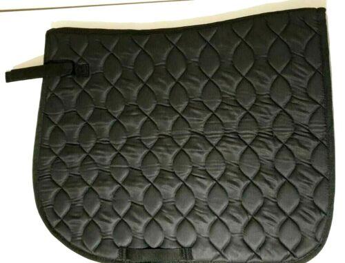 Saddle Pad Cloth Quilted Cotton All Purpose Full//Cob  VEGAN