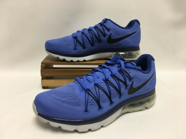 3e2294a9f9f9 Nike Air Max Excellerate 5 Running Shoes Blue Black Silver 852692-401 Men s  NEW