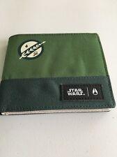 New Nixon Star Wars Special Edition Art Bi Fold Mens Wallet Skate Retail$36
