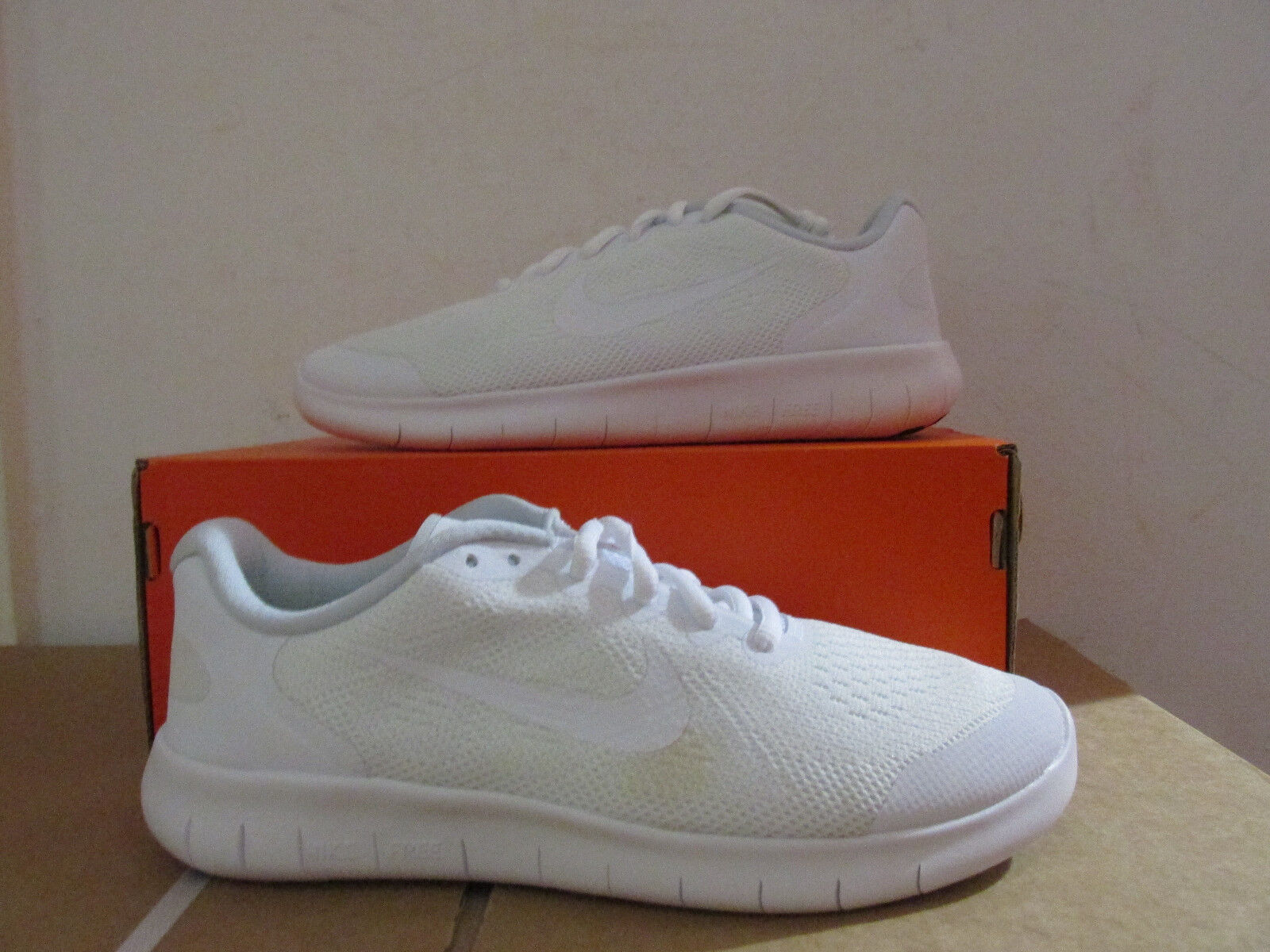 Nike Free RN 2018 GS Running Trainers 904255 100 Sneakers Shoes CLEARANCE