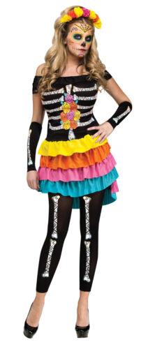 Adult Dia De Los Muertos Day of The Dead Costume