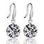 Clear-Crystal-Elegant-Women-925-Sterling-Silver-Plated-Ear-Stud-Earrings-Jewelry thumbnail 15