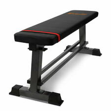 Everfit Flat Weight Bench Multi-Station Home Gym Squat Press Benches Fitness