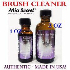 Mia Secret Brush Cleaner - 2 oz - Made in USA! Nail Brush Cleaner Liquid
