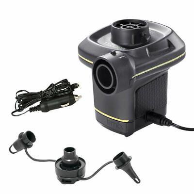 Pompa Elettrica Compressorino X Accendisigari E Presa Elettrica 12v E 230v Intex Asciugare Senza Stirare