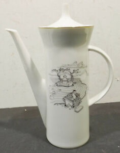 Rosenthal-Studio-Line-Germany-Coffee-Pot-Desired-Design-for-The-Gescaftsfr