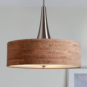 Pendant Light Fixture Modern Dining Room Lighting Kitchen Ceiling Hanging Drum Ebay