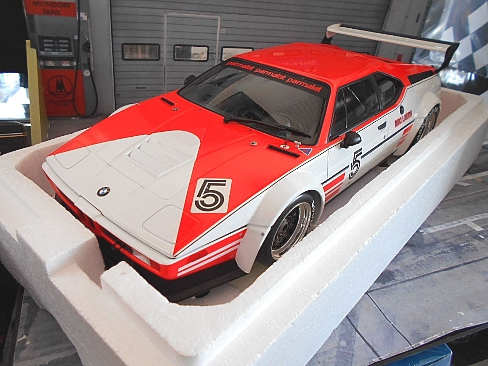 BMW m1 RACING PROCAR Lauda  5 Marl 1979 Procar Series Minichamps Nuovo enorme 1:12