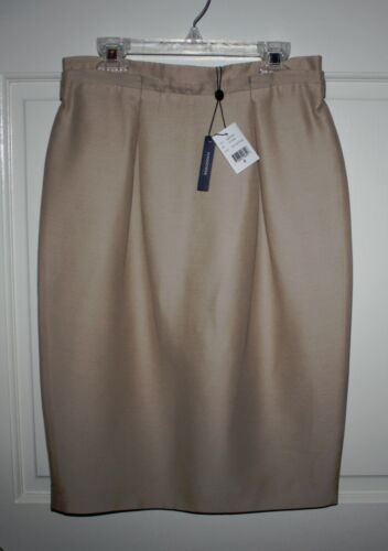 Nwt Rattan Magaschoni 4 Skirt Collection Ivory Womens Size rqpCwvr