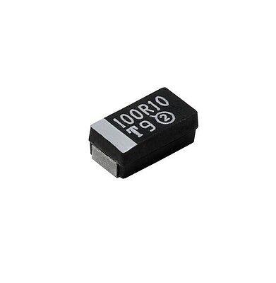 VISHAY SPRAGUE 298D106X0010M2T Tantalum Capacitors - Solid SMD 10uF 10volts 10%