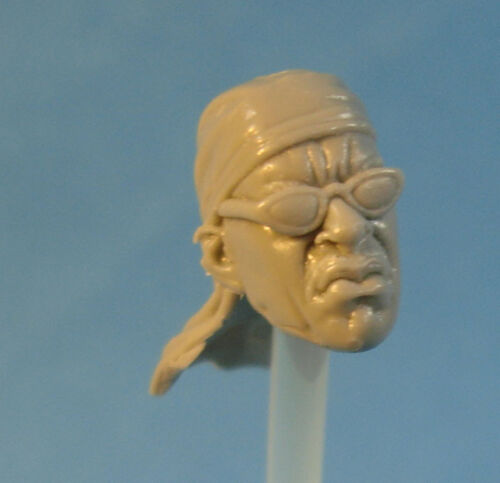 """MH249 Custom Cast Sculpt part Male head cast for use with 3.75/"""" action figures"""