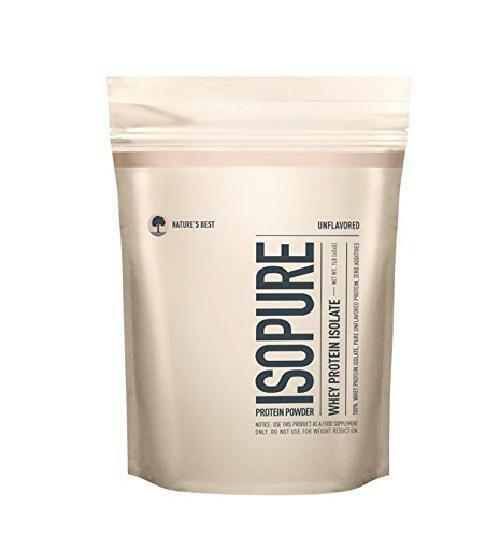 Isopure Protein Powder Zero Carb Fat 100% Isolate Whey Isolate 100% Keto Friendly GLUTEN FREE 311b72
