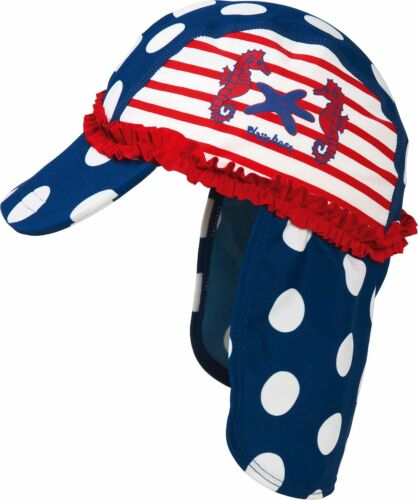 Playshoes Casquette seeferdchen cou protection protection uv polyamide