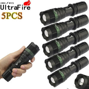 Ultrafire-20000Lumens-T6-Tactical-Zoomable-18650-LED-Flashlight-Torch-Lamp