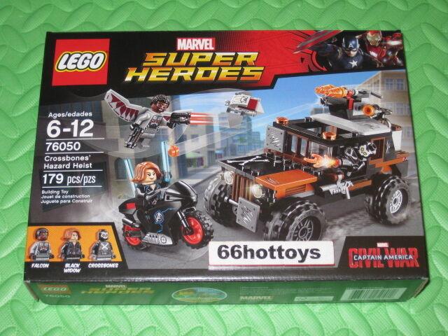 LEGO Marvel Super Super Super Heroes 76050 Crossbones' Hazard Heist NEW ea977d