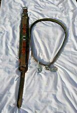 Vintage Klein Buhrke Linemans Pole Climbing Gear With Belt Model S 5266 N