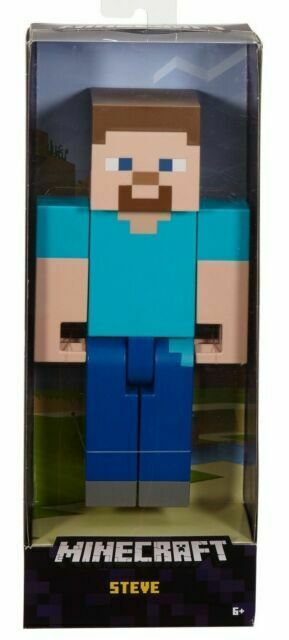 Minecraft Steve Large Scale Action Figure 8 5 Inches Flc71 For