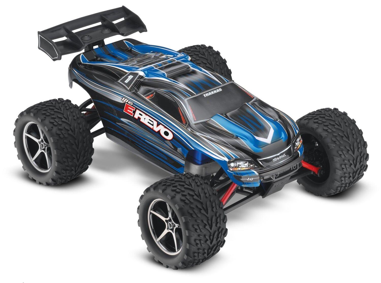 1 16 - Blu Revo E XL2.5 4x4 (TQ 7.2V DC CHG) C-TRX71054-1 - Blu