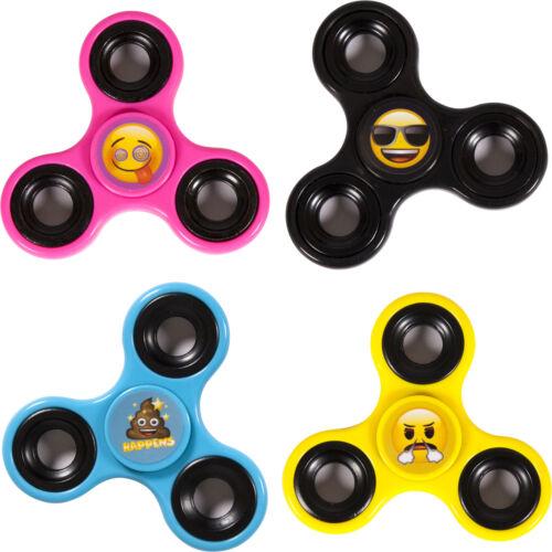 OFFICIAL EMOJI Fidget Finger Spinner Hand Focus Stress Relief Toys Fast EDC UK