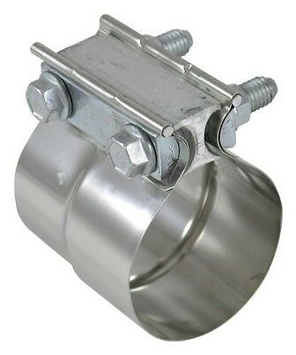 """Torca TorcTite Stainless Steel 5"""" Preformed Lap Joint Exhaust Muffler Pipe Clamp"""