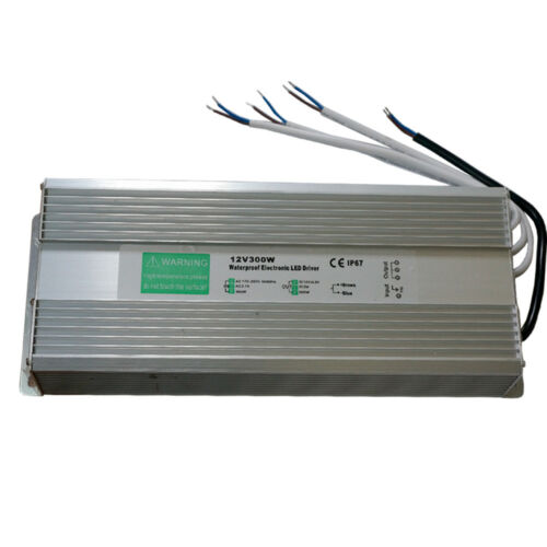 AC230V Zu DC12V Transformer Netzteil Adapter Treiber IP67 Wasserfest 300W