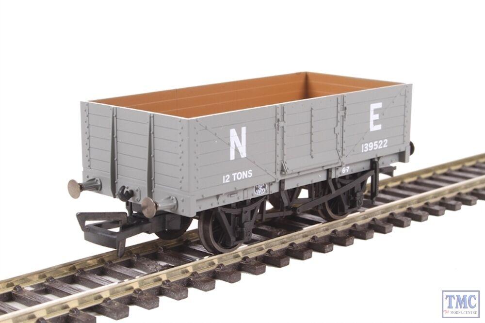 OR76MW6001B Oxford Rail OO OO OO Gauge 6 Plank Wagon LNER Gris E139522 f4b9f4