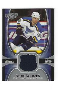 Pavol-Demitra-2005-06-Upper-Deck-Power-Play-Specialists-Jersey-Card-TS-PD