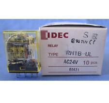 IDEC RH1B-UL 24VDC RELAYS FREE SHIPPING LOT OF 5 - USED